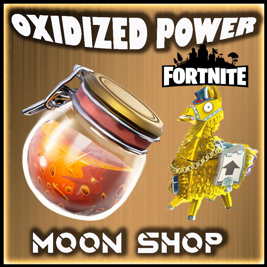 Oxidized Mineral Powder  x5000