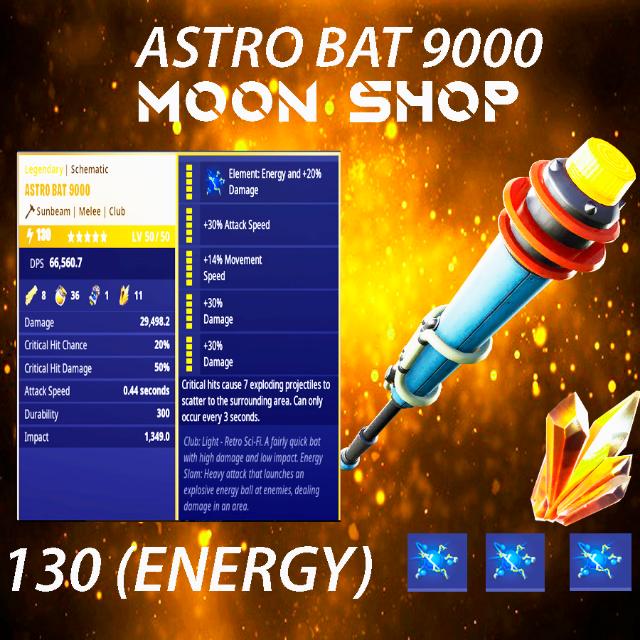 Bundle | X10 130 ASTRO BAT 9000