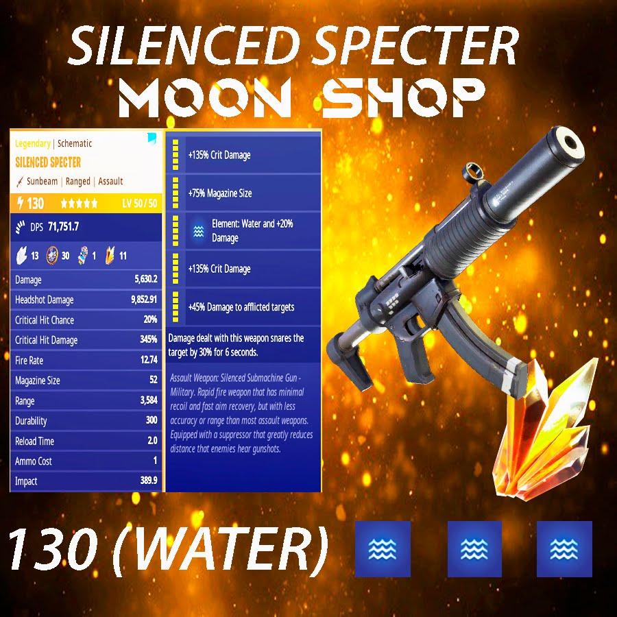 Bundle   x10 130 SILENCED  SPECTER