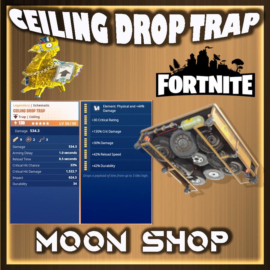 Ceiling Drop Trap x 1000