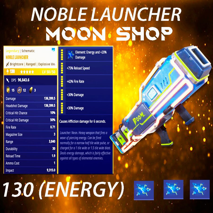 Noble Launcher |  x20 130 FULL PERK