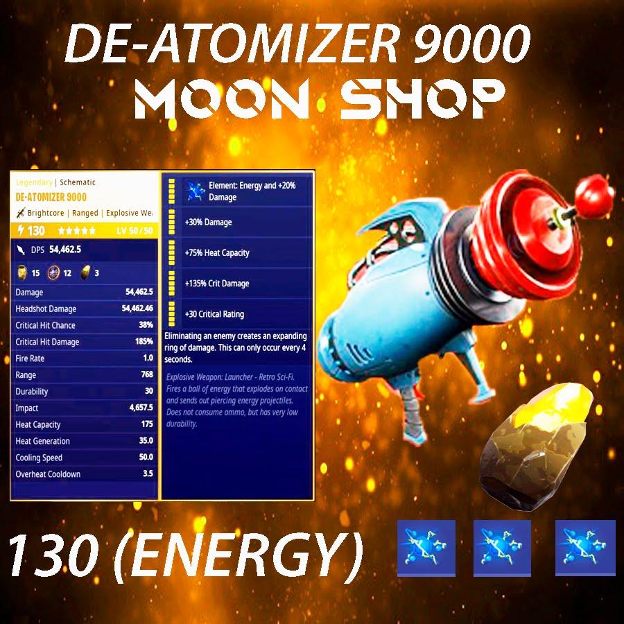 De-Atomizer 9000    x20 130 FULL PERK