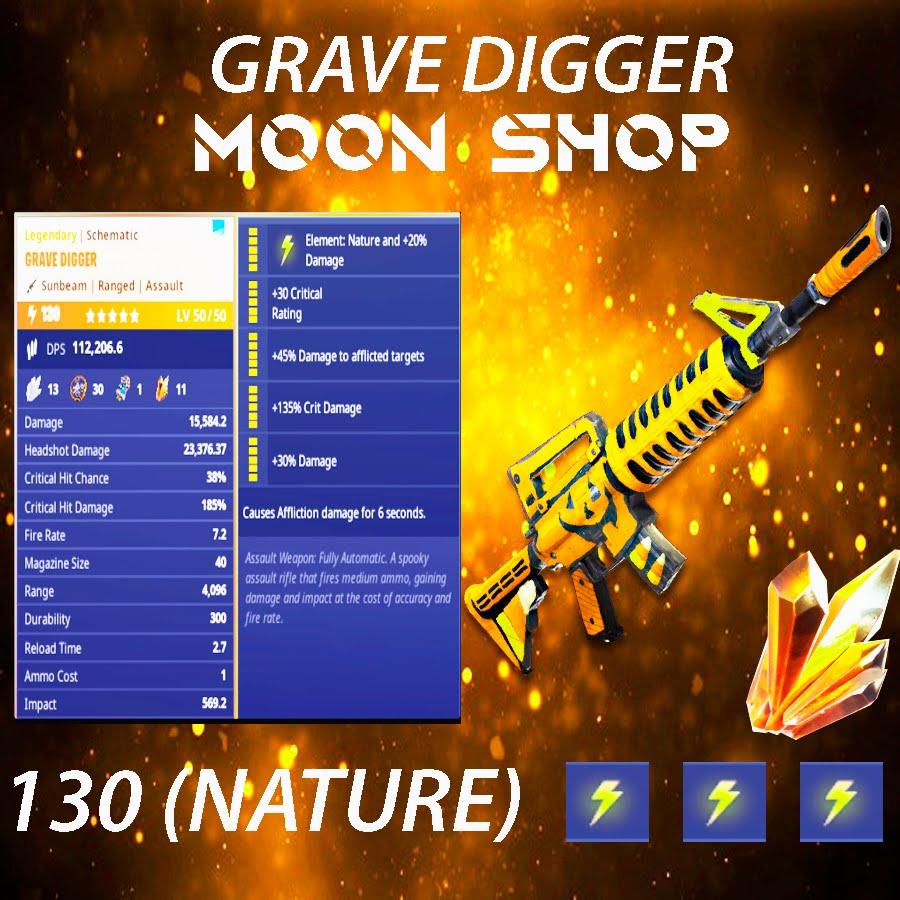 Grave Digger    x10 130  ⚡️