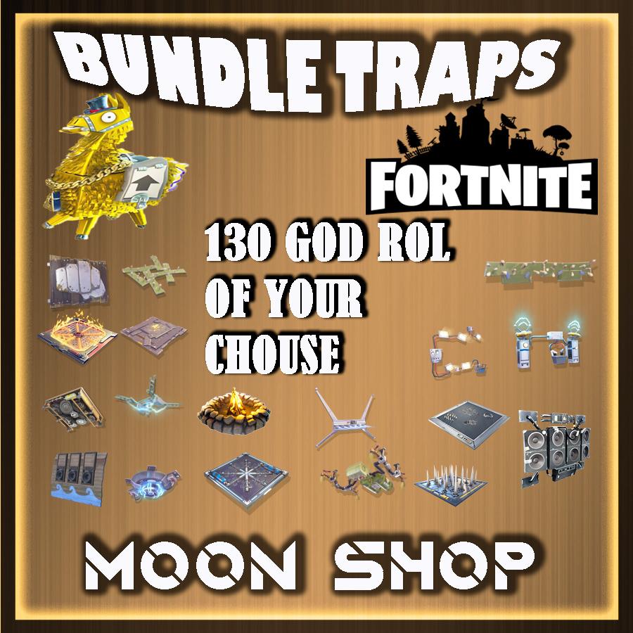 Bundle   X 3000 TRAP OF YOUR CHOUSE lv 130