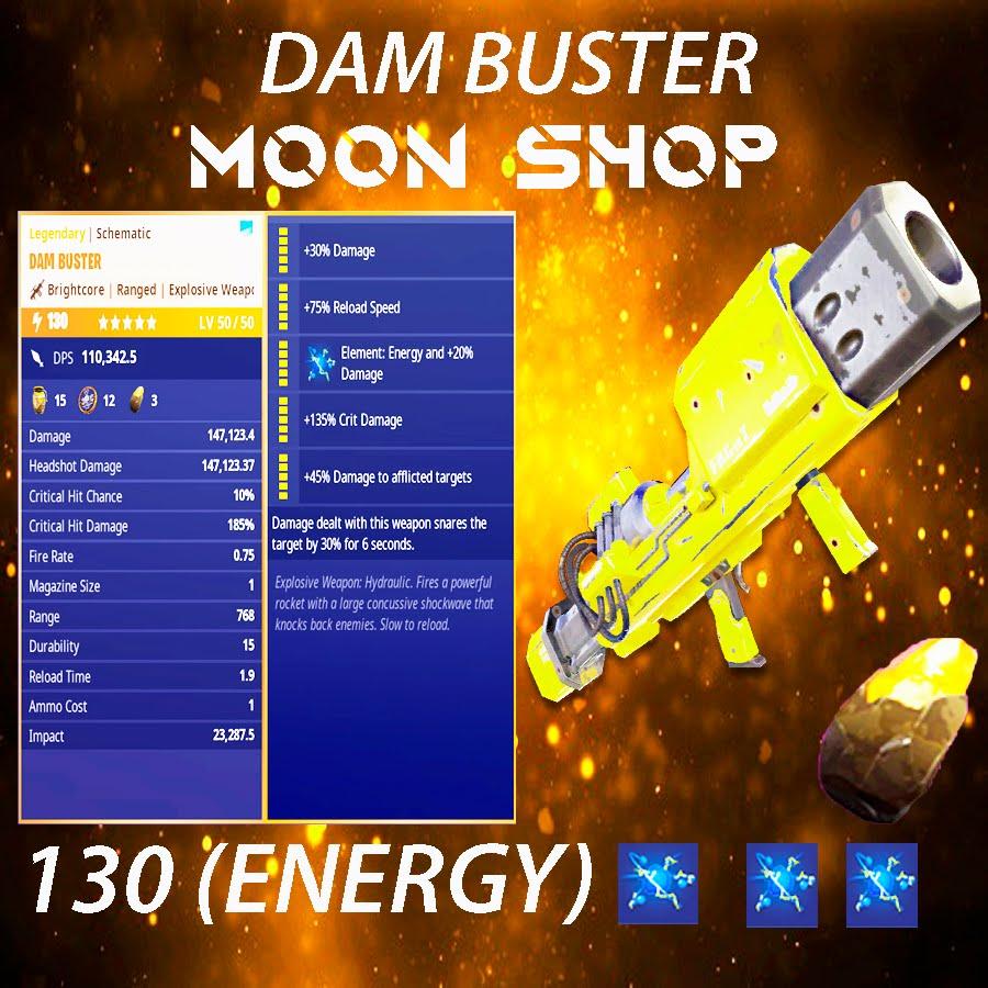 Dam Buster    x20 130 FULL PERK