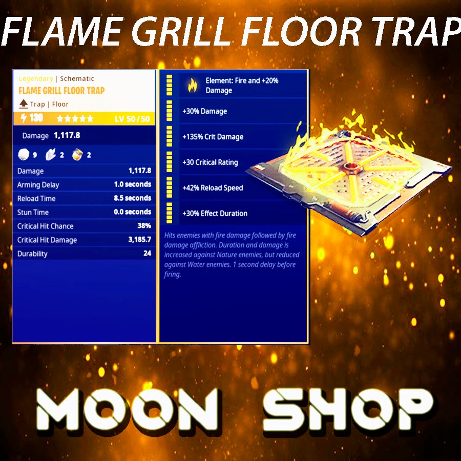 Flame Grill| x2000