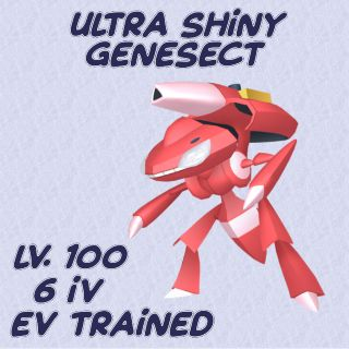 Other   Ultra Shiny Genesect