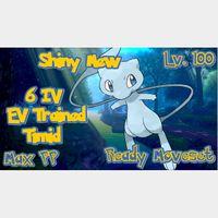 Mew | Ultra Shiny Mew 6 IV