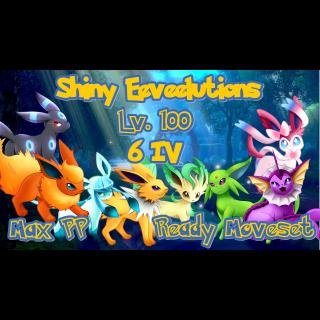 Bundle | Ultra Shiny Eeveelutions