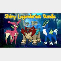 Bundle | Shiny Legendaries Bundle