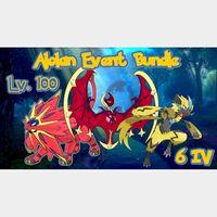 Bundle | 6 IV Alolan Event Bundle