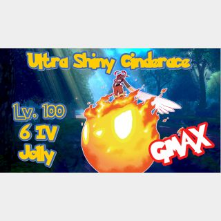Cinderace | Shiny GMAX HA Cinderace