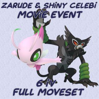 Bundle | Zarude & Shiny Celebi