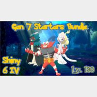 Bundle | Gen 7 Starters Bundle