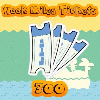 Nook Miles Tickets | 300x