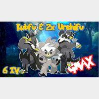 Bundle | Kubfu & 2x GMAX Urshifu