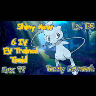 Mew | Shiny Mew 6 IV Timid