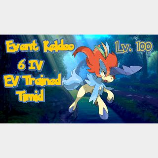 Other | Keldeo 6IV Event Timid