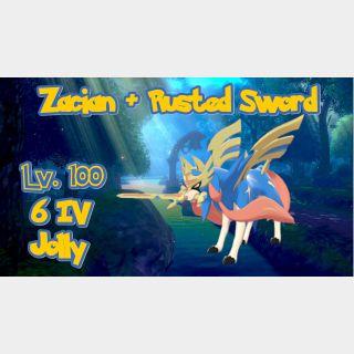 Zacian   Zacian + Rusted Sword