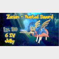Zacian | Zacian + Rusted Sword