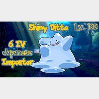 Ditto | Shiny 6 IV HA JPN Ditto