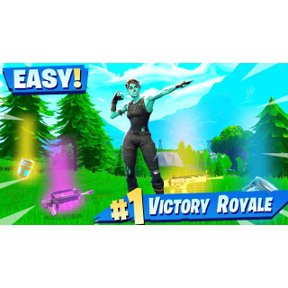 I will get you 25 victory royales!!!