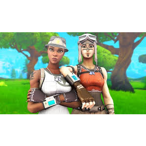 I will I will play squads or duos with you using renegade raider or purple skull trooper
