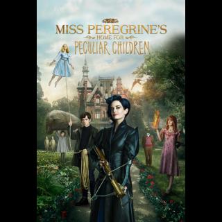Miss Peregrine's Home for Peculiar Children - Vudu HD or iTunes HD via MA