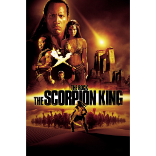 The Scorpion King - Vudu 4K UHD