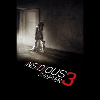 Insidious: Chapter 3 - Vudu SD or iTunes SD via MA