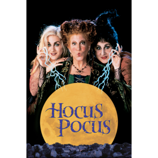 Hocus Pocus - Vudu HD or iTunes HD via MA