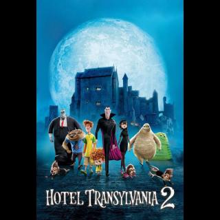 Hotel Transylvania 2 - Vudu HD or iTunes HD via MA