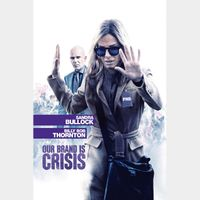 Our Brand Is Crisis - Vudu HD or iTunes HD via MA