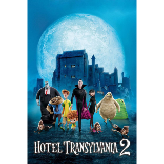 Hotel Transylvania 2 - Vudu SD or iTunes SD via MA