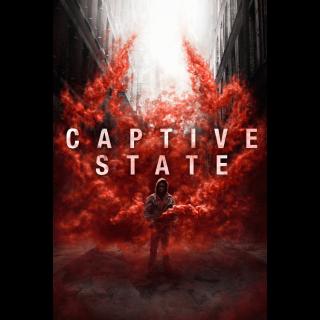 Captive State - Vudu HD or iTunes HD via MA