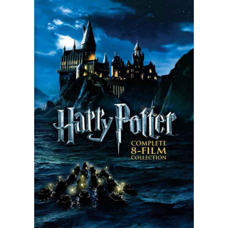 Harry Potter 8-Film Collection - Vudu HD or iTunes HD via MA