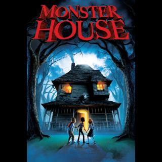 Monster House - Vudu HD or iTunes HD via MA