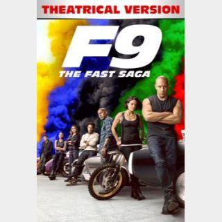 F9 - The Fast Saga - Movies Anywhere HDX