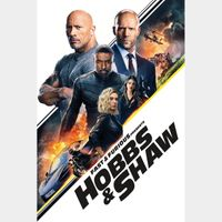 Fast & Furious Presents: Hobbs & Shaw - Movies Anywhere HDX