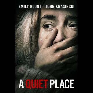 A Quiet Place - UV HDX/iTunes 4K Full Code