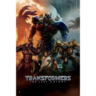 Transformers: The Last Knight - Vudu 4K UHD
