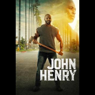 John Henry - Vudu HD or iTunes HD