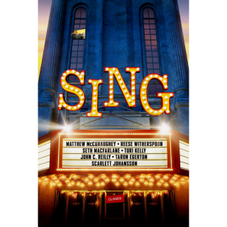 Sing - Movies Anywhere HD
