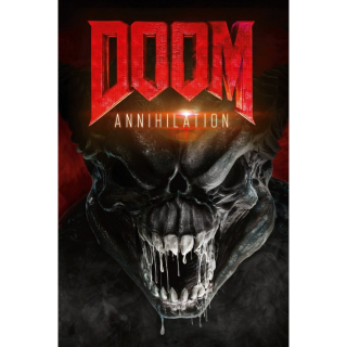 Doom: Annihilation - Vudu HD or iTunes HD via MA