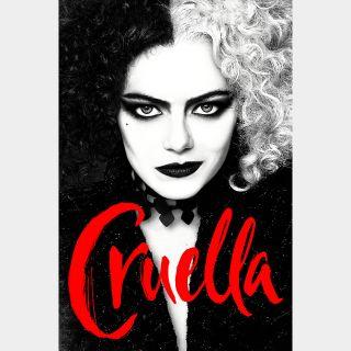 Cruella - Movies Anywhere HDX
