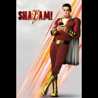Shazam! - Vudu HD or iTunes HD via MA