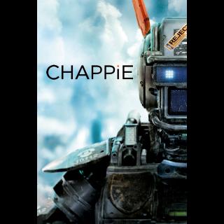 Chappie - Vudu HD or iTunes HD via MA