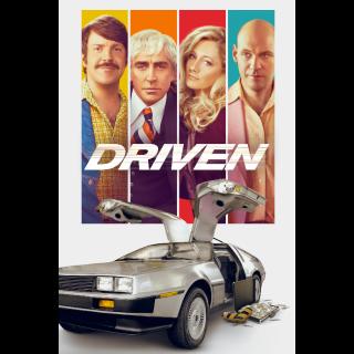 Driven - Vudu HD or iTunes HD via MA
