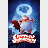 Captain Underpants: The First Epic Movie - Vudu HD or iTunes HD via MA