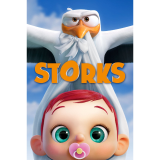 Storks - Vudu HD or iTunes HD via MA